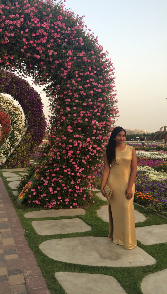 Dyandra-Raye-Miracle-Gardens-Dubai