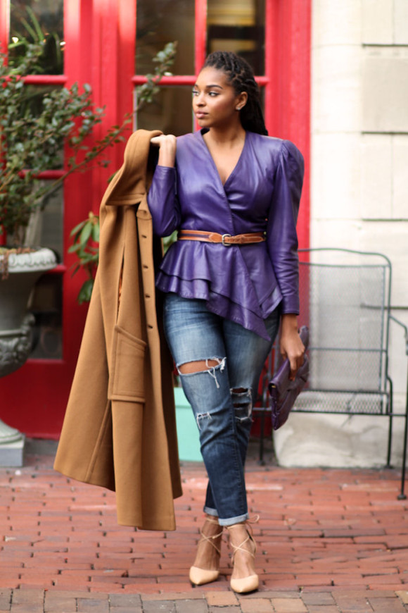 Dyandra-Raye-Purple-Leather-Jacket-2