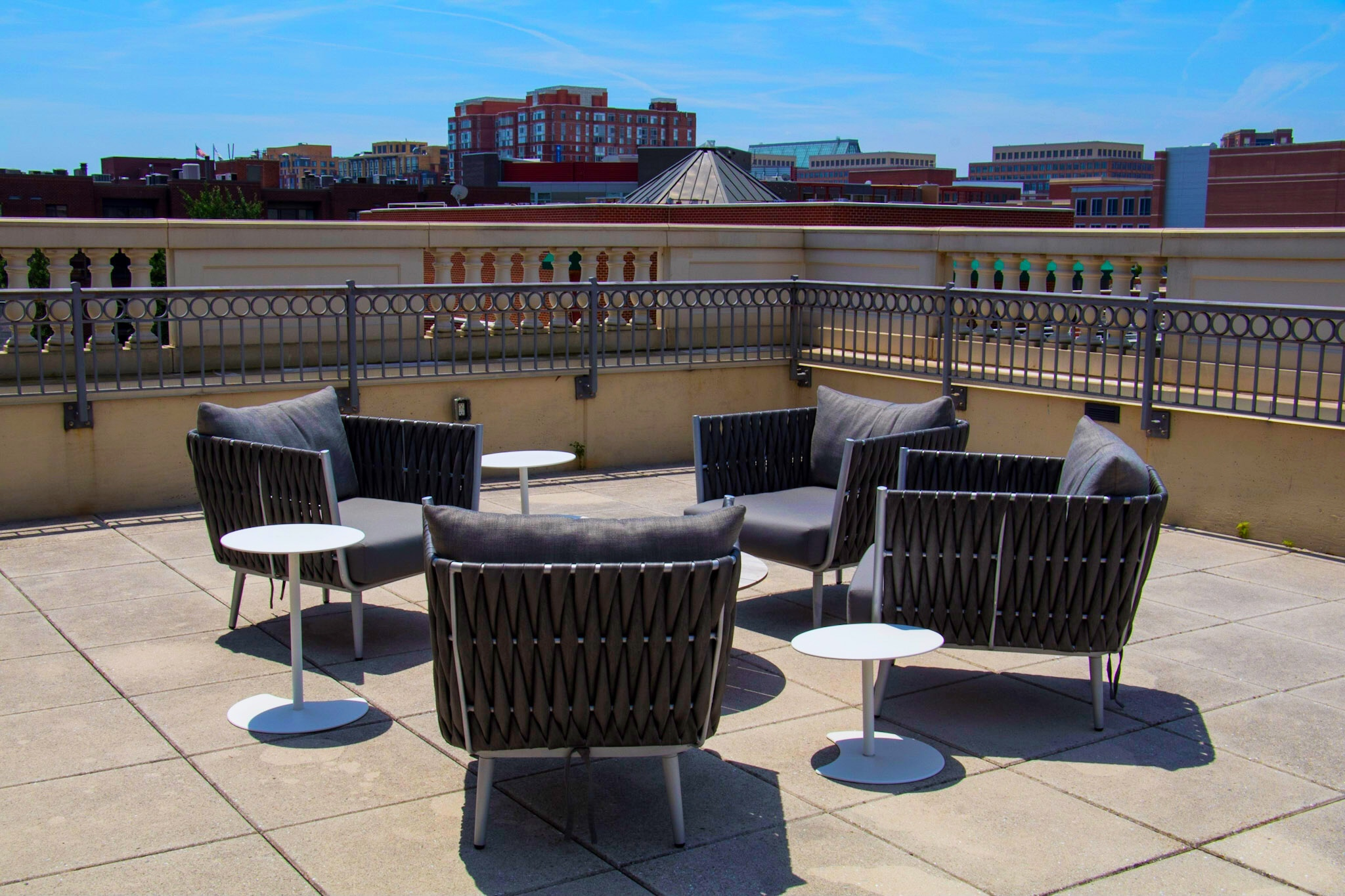 The Kimpton Lorien Hotel Deck