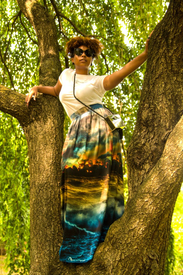 Tree Blogger Photoshoot