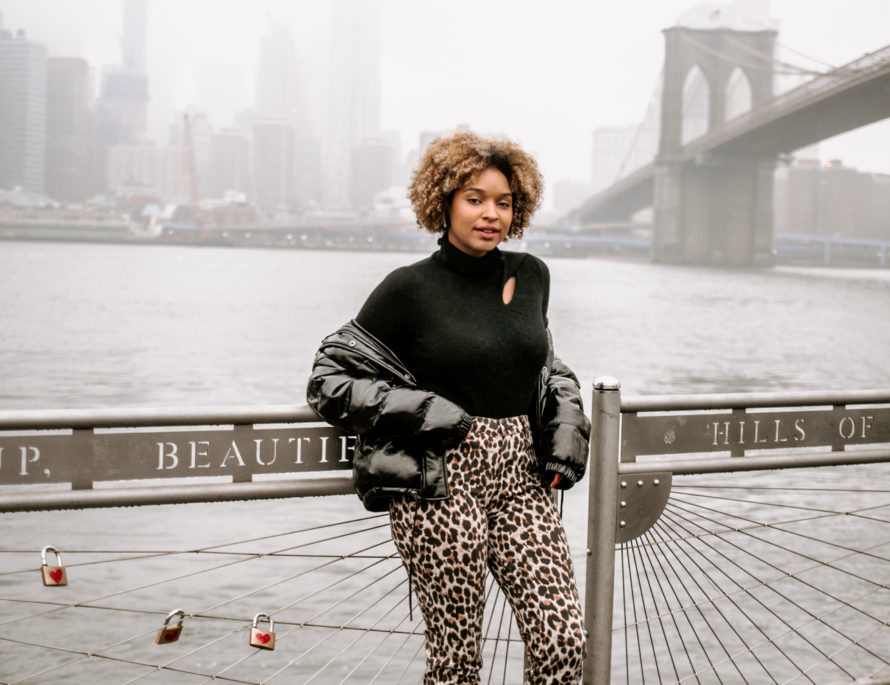 Brooklyn Bridge Fashion Photohoot