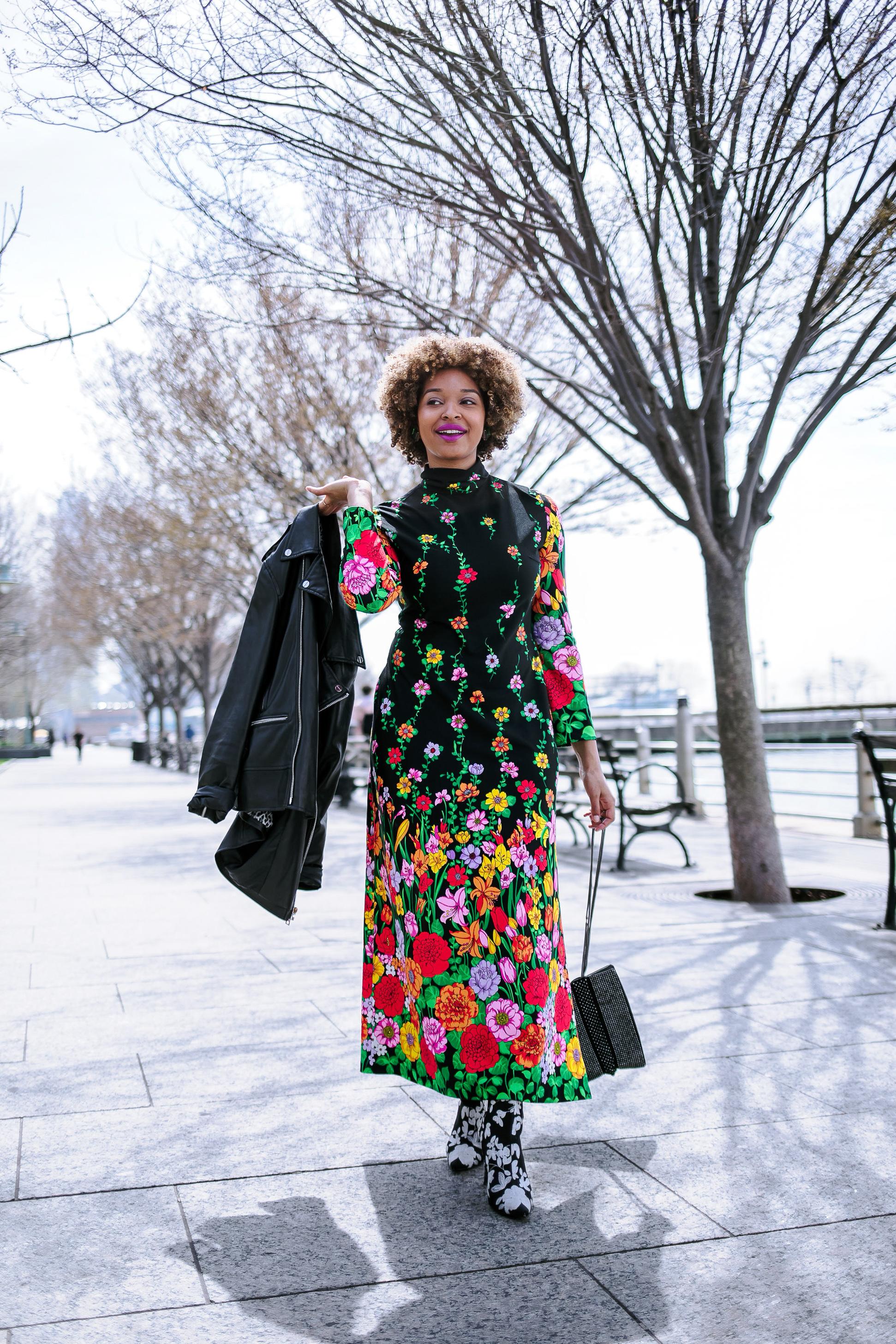 Dyandra Raye Floral Dress
